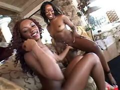 Ebony lesbian loves only black girl
